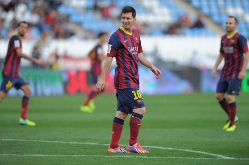 戦列を離れていたバルセロナのメッシ、約2週間ぶりに全体練習復帰