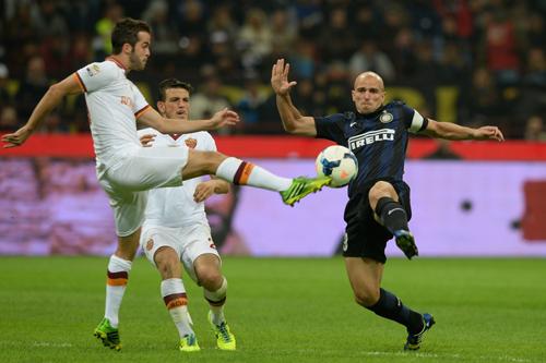 長友フル出場のインテルが今季初黒星…ローマとの無敗対決で敗れる