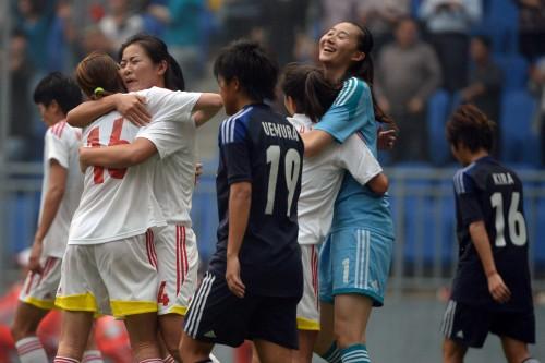 東アジア競技大会第2戦でU-23女子代表が中国に完封負け