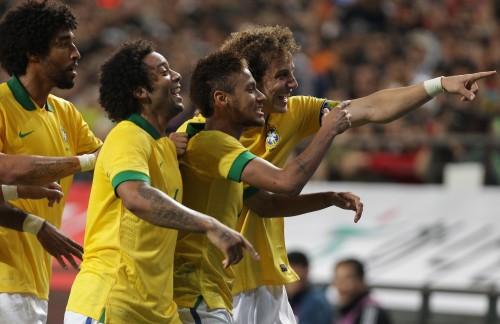 ブラジルがアウェーで韓国に2得点完封勝利…ネイマールがFK弾