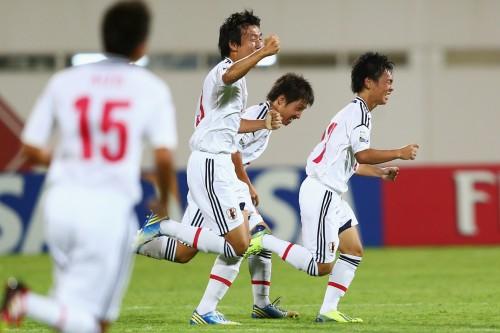 U-17W杯で日本が白星発進…MF瓜生のミドルでロシアを撃破