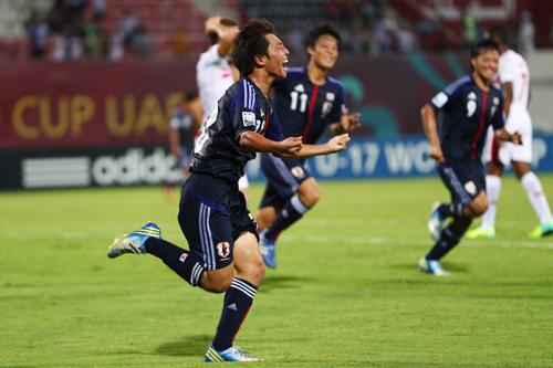 日本が3戦全勝でU-17W杯GL首位突破…チュニジアに逆転勝利