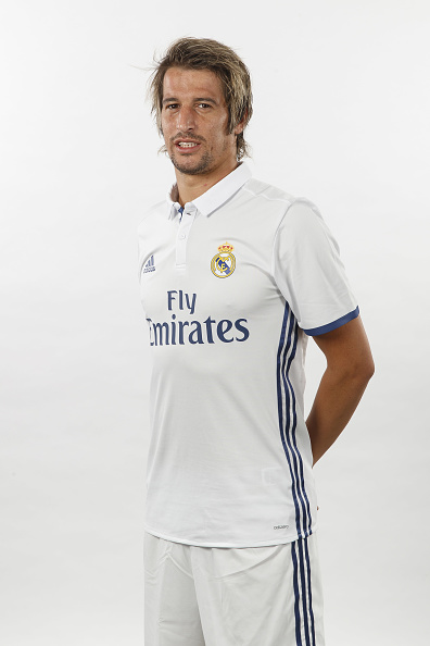 MADRID, SPAIN - AUGUST 18:  Fabio Coentrao of Real Madrid poses during a portrait session at Valdebebas training ground on August 18, 2016 in Madrid, Spain.  (Photo by Angel Martinez/Real Madrid via Getty Images)