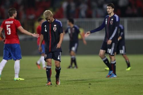 セルビアに敗戦の日本…内容評価も求められるは決定力と明確な打開策