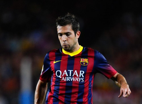 バルセロナのJ・アルバが左足を負傷…約6週間の離脱が決定