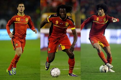 日本代表が警戒すべきベルギー代表の3選手