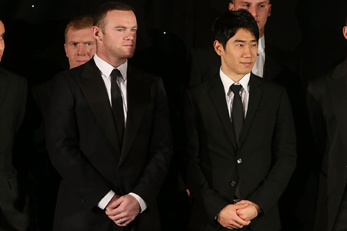 ルーニーが香川を絶賛「シンジはワールドクラスの選手でナイスな人間」