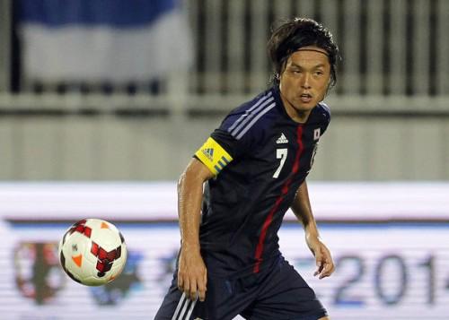 オランダ戦、ベルギー戦に臨む日本代表の遠藤保仁「楽しみ」