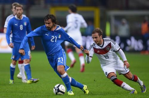 イタリアとドイツの強豪対決はドロー…アバーテが代表初得点を記録