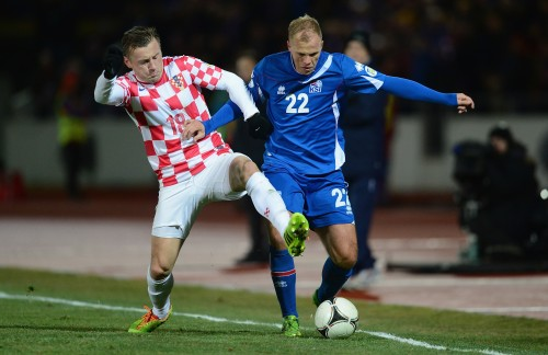 クロアチアが敵地でドロー、退場者を出したアイスランドを崩せず