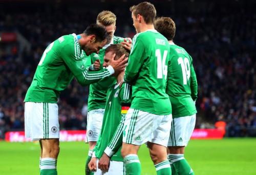 ドイツが敵地で勝利…イングランドはホームで2戦連続完封負け
