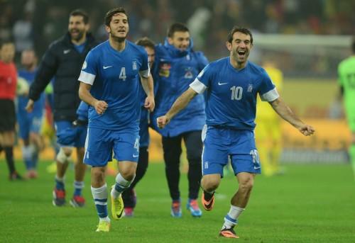 ギリシャがルーマニアとのPO制し、2大会連続3回目のW杯出場