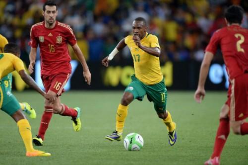 スペインが南アフリカに完封負け…GK負傷で特例の7名交代も