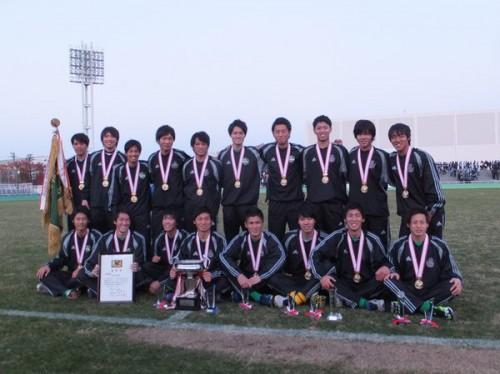3連覇達成の専修大が最終戦で完封勝利、スコアレスドローの日本体育大は2部降格/関東大学リーグ
