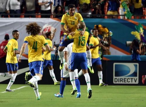 ブラジルが5ゴール大勝…W杯出場チームのホンジュラスを一蹴