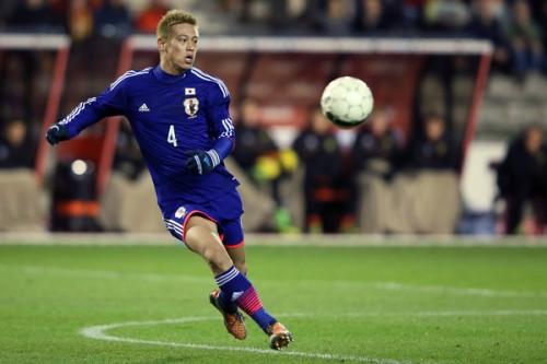 ベルギーメディアは本田を称賛「偉大なプレーヤー。完璧なプレー」