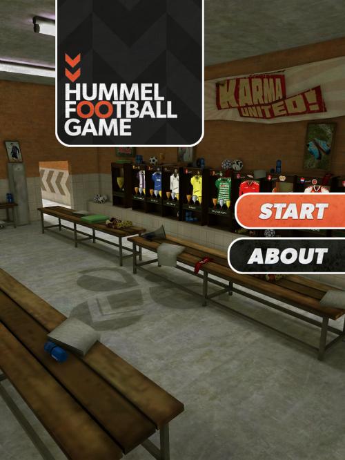 ヒュンメルがサッカーゲームアプリのバージョンアップを発表
