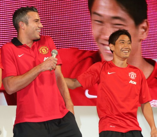 V・ペルシーが香川や日本に賛辞「素晴らしいサッカーをしていた」