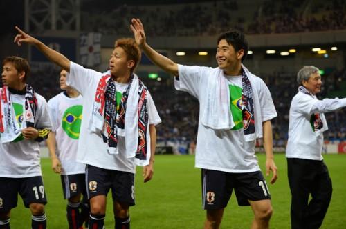 英紙、W杯アジア・北中米カリブ海代表では日本が「ベスト」…キーマンは香川と清武