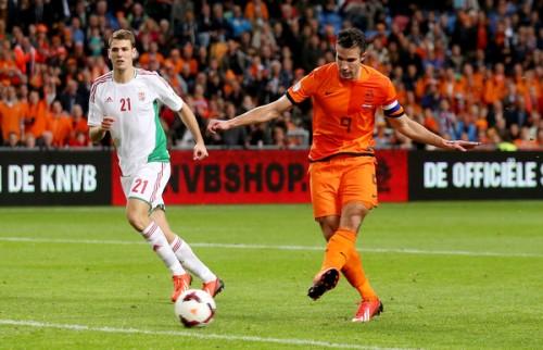 日本と対戦のオランダ代表からマンUのFWファン・ペルシーが離脱