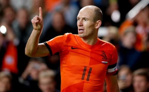オランダ代表のロッベンが日本を警戒「日本はコロンビアより難しい相手」