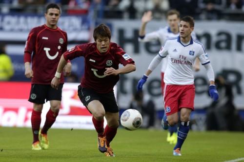酒井宏樹フル出場のハノーファー、HSVに逆転負けで7試合勝利なし