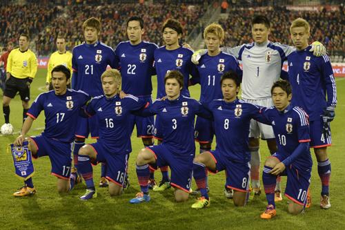日本代表、W杯壮行試合でキプロス代表と初対戦