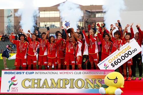 INAC神戸が国際女子クラブ選手権で初優勝…チェルシー撃破
