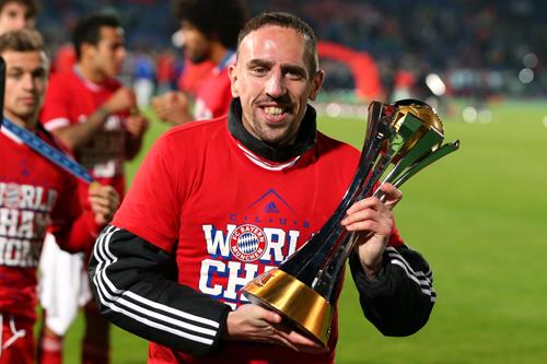 フランス代表リベリー、仏紙選定の年間最優秀スポーツ選手では4位