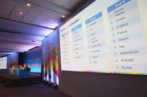 ブラジルW杯の抽選ポット分けが決定…日本はアジア、北中米カリブと同じポット3
