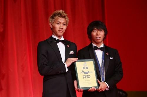 個人賞3部門受賞のC大阪FW柿谷曜一朗「全部うれしい」
