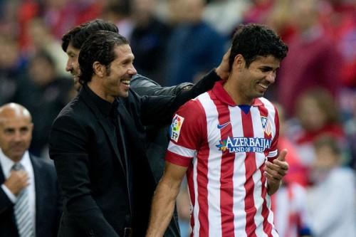 アトレティコのシメオネ監督「D・コスタはバロンドールに値する選手」