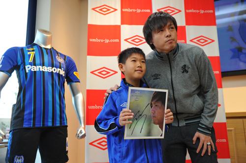 1年でJ1復帰を果たしたG大阪の遠藤保仁「充実した1年だった」