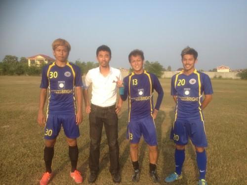 カンボジア1部BBUに山形雄介、高野真凛、太田敬人の3選手が移籍
