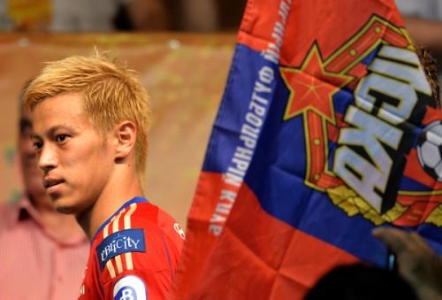 CSKAモスクワ、本田圭佑の退団を発表…4年間の貢献に感謝