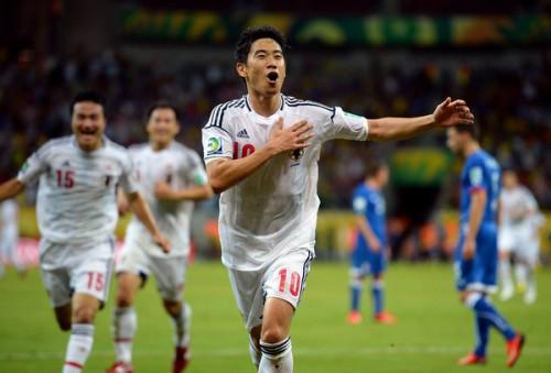 イタリア代表指揮官、W杯注目選手に日本代表の香川真司を選出
