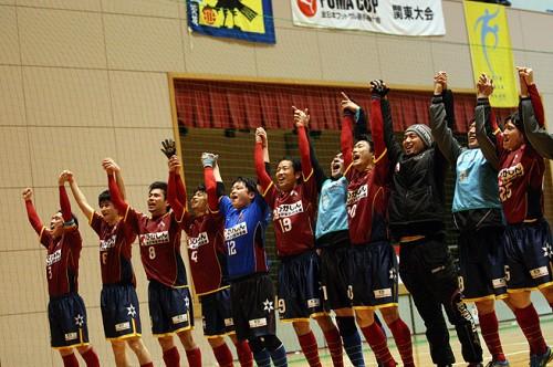 来季Fリーグ参入のフウガすみだが全国の舞台へ/PUMA CUP 2014 関東大会