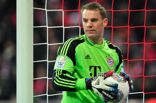 バイエルンのドイツ代表GKノイアーが2013年最優秀GKに選出