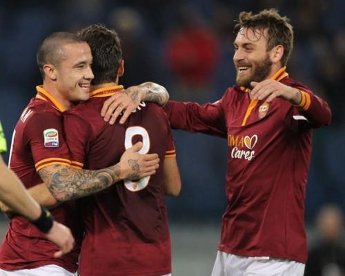 ユーヴェを追う2位ローマ、ホームでリヴォルノに3発快勝