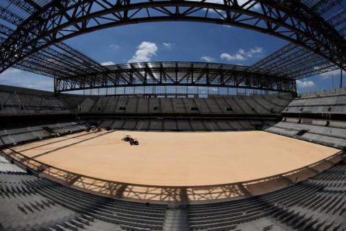 競技場建設遅れのクリチバ、W杯開催都市から除外も…FIFA視察