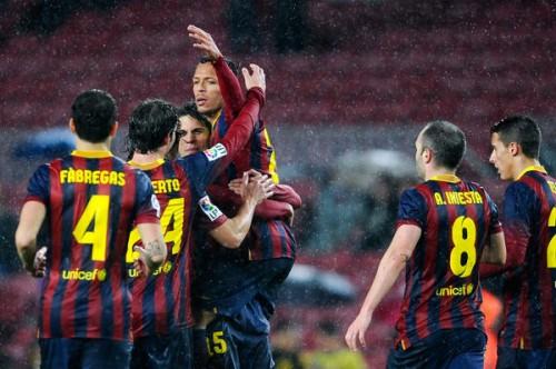 バルサが2試合で9ゴール、レバンテを破って国王杯準決勝進出