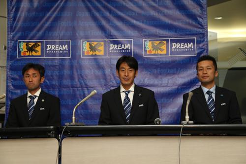 ブラジルW杯に臨む日本人審判団「感謝を込めたキックオフの笛に」