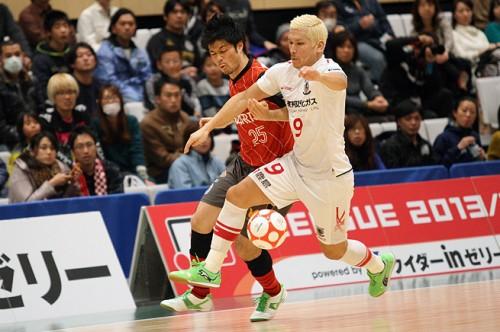 Fリーグ2013/2014第29節すみだセントラル……浦安が名古屋から勝ち点奪取