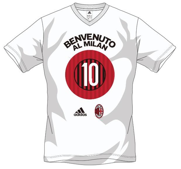 ACミラン No.10 Tシャツ