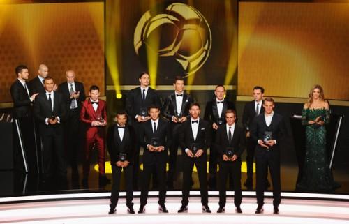 FIFAベスト11が発表…バルサから最多4名、C・ロナウドやイブラも