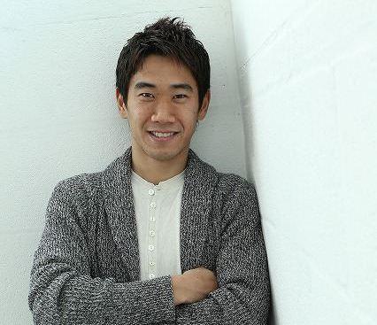 マンUのMF香川真司、サッカー界のアイドルは「イニエスタ」