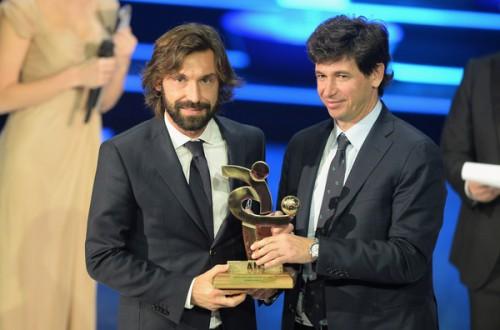 ユーヴェMFピルロ、2年連続で選手投票の年間最優秀選手に選出
