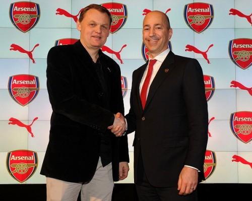 アーセナル、プーマとの長期パートナーシップ契約を発表