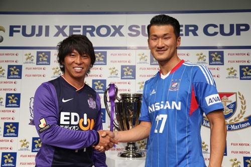 [FUJI XEROX SUPER CUP 2014特別対談]佐藤寿人(広島)×富澤清太郎(横浜FM)