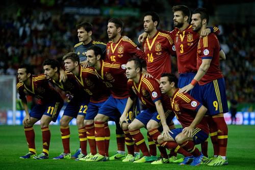 W杯を2カ月後に控えた最新FIFAランク、1位スペイン変わらず